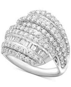 Wrapped in Love™ Diamond Layered Cluster Ring (2 c