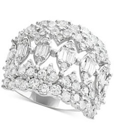 Rock Candy by EFFY® Diamond Cluster Statement Ring