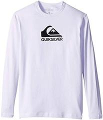 Quiksilver Solid Streak Long Sleeve Rashguard (Big