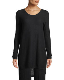 Neiman Marcus Cashmere Collection Cashmere Waffle-