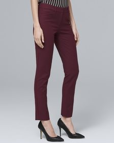Curvy Fit Comfort Stretch Slim Ankle Pants