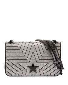 Stella McCartney Stella Star Medium Shoulder Bag