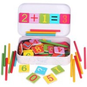 Magnetic Wooden Toys Number Learning Toys Mathemat