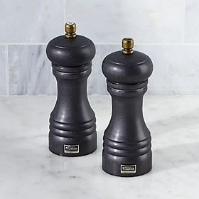 Graphite Salt and Pepper Mills