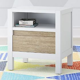 Kids Andersen Whitewash Nightstand