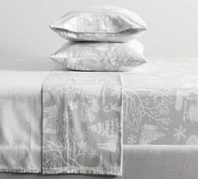 Frosted Forest Organic Flannel Sheet Set