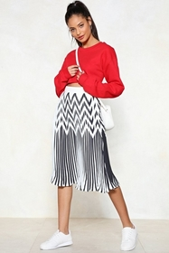 Do You Fold Pleated Skirt