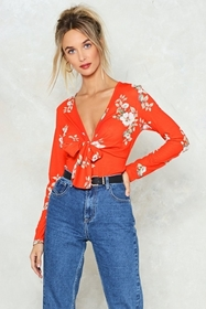 All That She Wants Floral Top