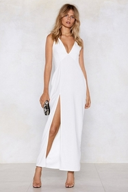 Thighs the Limit Maxi Dress