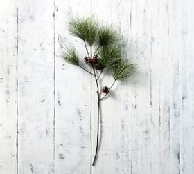 Faux Needle Nose Pine Branch
