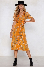 Key West Floral Dress