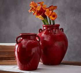 Red Vase Collection