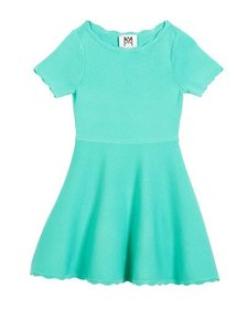 Milly Minis Scallop Flare Dress, Size 4-7
