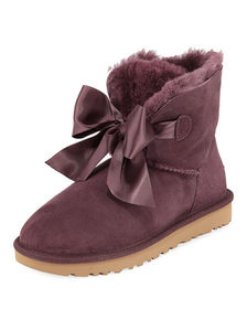 UGG Gita Bow Mini Boots