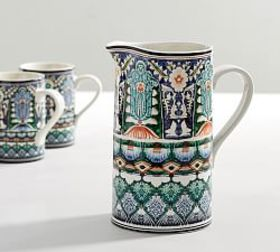 Mezze Pitcher - Blue
