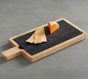 Wood & Slate Cheese Board