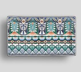 Mezze Rectangular Platter - Blue