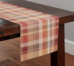 Newton Plaid Table Runner
