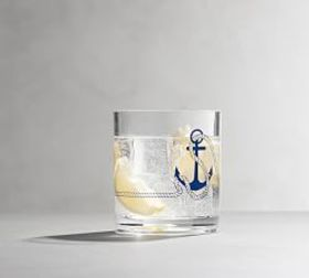 Coastal Icon Acrylic Tumbler Anchor
