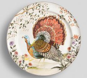 Botanical Harvest Turkey Serve Platter