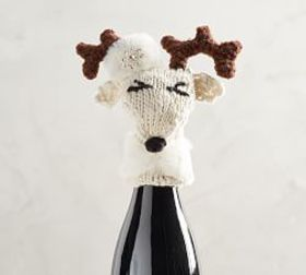 Mrs. Party Reinder Wine Topper