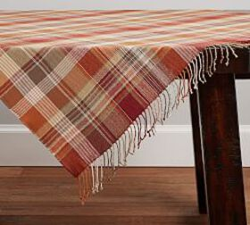 Newton Plaid Acrylic Table Throw