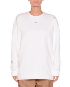 No. 21 Crewneck Sequin-Embroidered Sweatshirt