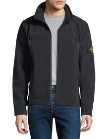 Stone Island Men's Lightweight Zip-Front Jacket