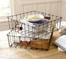 Taylor Wire Console Table Basket