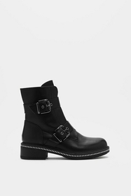 On the Double Buckle Boot