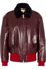 CALVIN KLEIN 205W39NYC Shearling-lined leather bom