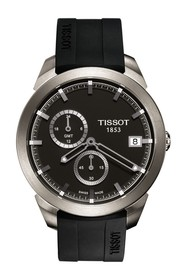 Tissot Men's Titanium GMT Watch