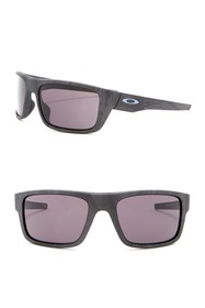 Oakley 61mm Drop Point Rectangle Sunglasses