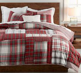 Easton Plaid Patchwork Quilt & Shams