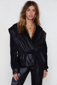 Go Undercover Faux Leather Jacket