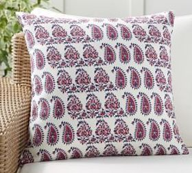 Ronnica Paisley Indoor/Outdoor Pillow
