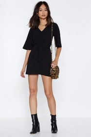 Ready or Knot Mini Dress