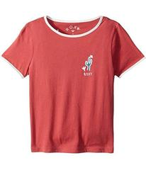 Roxy Time's Up Tee (Toddler/Little Kids/Big K
