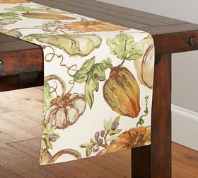 Harvest Pumpkin Table Runner