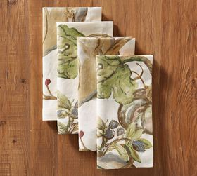 Harvest Pumpkin Napkins, Set of 4