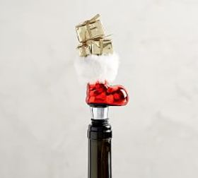 Santa's Boot Wine Stopper