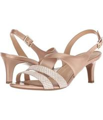 Naturalizer Cream Metallic Snake/Pearl