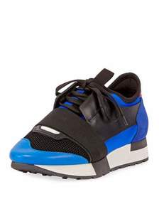 Balenciaga Race Colorblock Sneakers