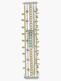 Pave Turquoise Lucky Layer Bracelet