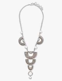 Pave Arch Drama Necklace