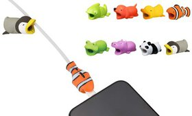 Assorted Animal Cable Protectors (8-Pack)