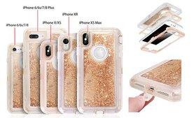 Bling Quicksand Glitter Liquid Case Shockproof for