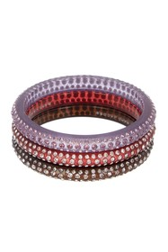 Marc by Marc Jacobs Glitter Crystal Bangles