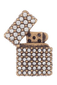 Marc by Marc Jacobs Strass Lighter Pin