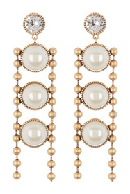 Marc by Marc Jacobs Ball Chain Imitation Pearl Ear